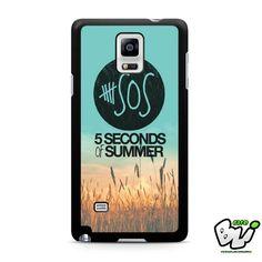 5 Second Of Summer Samsung Galaxy Note 4 Case