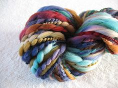 http://www.etsy.com/shop/weetsie is on vacation... and it's a good thing, because WOW! and payday isn't until Monday. #yarn #handspun #want