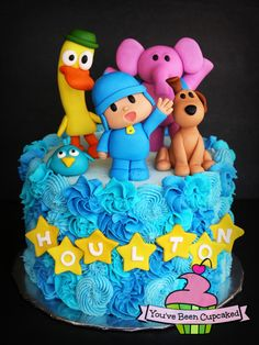 Pocoyo & Friends - Cake by You've Been Cupcaked