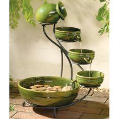 Perfect little fountain! If ever I see one of these, I'll buy it