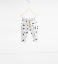 """Image 1 of """"Picnic"""" trousers from Zara"""
