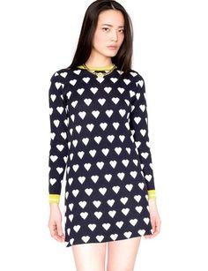 Edie heart knit dress