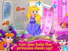 Enchanted Castle Design App by Kids Fun Club by TabTale. Kids Game Apps.