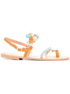 Shop Christina Fragista Sandals Kerkyra O sandals .
