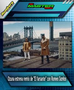 El cantante puertorriqueño Ozuna finalmente reveló el videoclip oficial de la remezcla de El Farsante con la colaboración de Romeo Santos.  La producción fue filmada en Estados Unidos y cuenta en paralelo tres diferentes relaciones amorosas.  Ozuna y Romeo dan testimonio de esos amores ante un público de juezas dentro de un tribunal de Nueva York.  El videoclip ya superó los 18 millones de reproducciones en la cuenta de YouTube de Ozuna.  Esta es la segunda vez que los intérpretes unen sus…