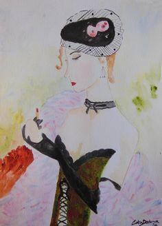 Watercolor Paint   Maria paula 18 x 25 cm