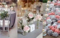 Decorazioni per il matrimonio in grigio: idee e consigli [FOTO] - Scopri come decorare il tuo matrimonio in grigio, come abbinare questo colore sobrio ad altri elementi del ricevimento , per creare uno stile unico.