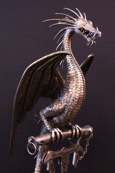 Lovely dragon sculpture