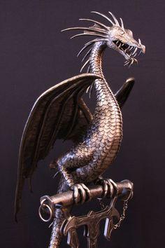 Lovely dragon sculpture