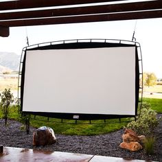 Camp Chef Outdoor Big Screen Portable Movie Screen, Multicolor Find the perfect camping gear for your camping needs Backyard Patio Designs, Backyard Landscaping, Landscaping Ideas, Diy Backyard Projects, Backyard Decorations, Cool Backyard Ideas, Weekend Projects, Patio Ideas, Outdoor Movie Screen