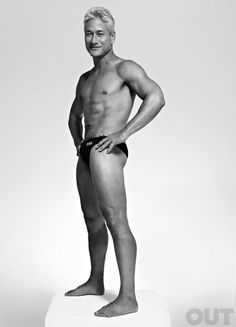 """GREG LOUGANIS  The world took a collective gasp 25 years ago during the 1988 Seoul Olympics when Louganis hit the springboard, suffered a concussion, and still earned the gold. Considered the greatest diver of all time, he shocked fans in 1996 by coming out as both gay and HIV-positive. Since then, Louganis has spoken out for HIV/AIDS rights and protections, while also mentoring athletes. """"It's important -- just being an example is the only thing I can do,"""" he says."""