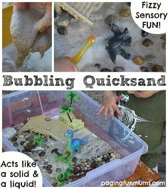 Bubbling Quicksand Play Recipe
