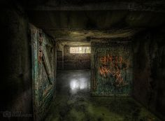 the flooded bunker #HDR #Urbex