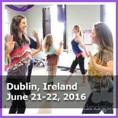 Training Schedule - Dancing For Birth #Dublin