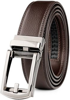 New Wide One Piece Thick ITALIAN Leather Belt Rustic Chrome Buckle Black Brown