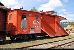 Canadian National Railway (CN) Snow Plow No. Canadian National Railway, Canadian Pacific Railway, Train Car, Train Tracks, Rail Transport, Railroad Photography, Old Trains, Train Engines, Snow Plow