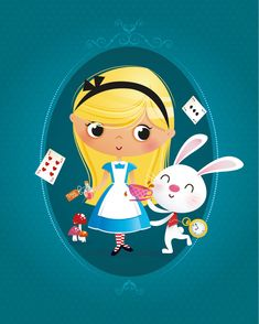 Alice in Wonderland nursery print nursery decor baby girl Baby Disney, Disney Love, Baby Girl Drawing, Alice Tea Party, Images Disney, Twisted Disney, Walt Disney Animation Studios, Baby Girl Nursery Decor, Disney Fan Art