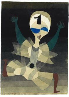 Paul Klee. Running to the goal