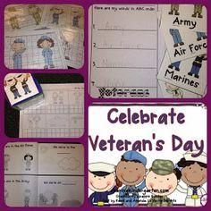http://www.teacherspayteachers.com/Product/Celebrate-Veterans-Day-393402