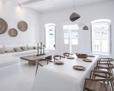 villa Kampani - one of the most historic properties of downtown Mykonos, built in the and recently renovated by 🇬🇷 . Interior Architecture, Interior And Exterior, Interior Decorating, Interior Design, Decorating Ideas, Mediterranean Homes, Mykonos, Home Renovation, Villa