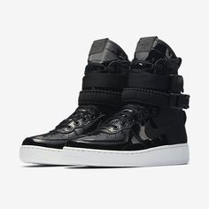 finest selection 793bd 5fb4d Nike SF Air Force 1 SE Premium Zapatillas - Mujer Chaussures Air Force 1  High,
