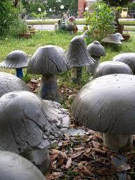 Image result for french hypertufa mushroom