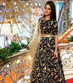 Jannat Zubair Ethnic Wardrobe Is Proof Shows Love for Lehengas; See Pictures Indian Dresses, Indian Outfits, Indian Saris, Indian Clothes, Moda Indiana, Tashan E Ishq, Indian Fashion Trends, Ethnic Fashion, Fashion Ideas