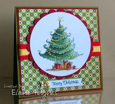 Bellariffic Uptown Christmas Tree – Quixotic Cards