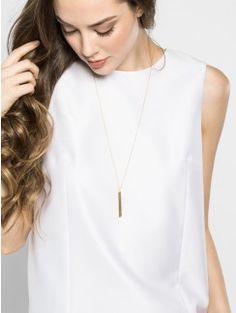 Delicate Necklaces & Layering Necklaces | BaubleBar $36