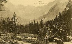 Dolina Białej Wody - Górale i Tatry na starych fotografiach
