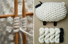 This Knitted Sheep Pillow Pattern is gorgeous and it's an easy free tutorial that is perfect for your next project. View the Ideas now.