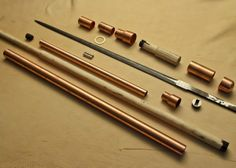 Guinea Hog Forge: Steampunk Sword Cane for Blade Show