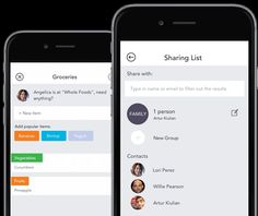 http://www.getcapitan.com/ First smart grocery list app Capitan let's your collaborate with your family via shared grocery lists and learns your habits.