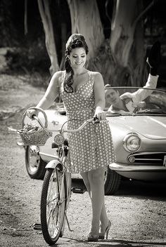 beauty, bicycles & an Alfa
