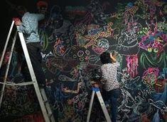 Last Monday | 1000 Doodle Wall, Baby Strollers, Doodles, Children, Modern, Chalkboard, Image, Walls, Bedroom