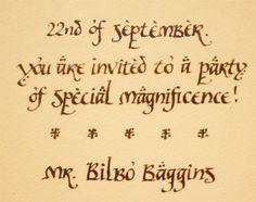 Happy Birthday, Bilbo and Frodo!