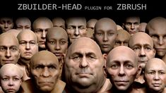 HUMAN ZBUILDER-HEAD THE EASY WAY TO MAKE HUMAN HEADS. Supported Zbrush versions: Zbrush 2019 1.2 64bit. Zbrush 2020 64bit. or higher version WIN or OSX. Tool for making detailed high polygon human head models in Zbrush. Human ZBuilder-Head is a plugin for Zbrush. With this plugin you can make any types of human heads and custom face types as a creatures or humanoids.. FEATURES: - 6 colorized and detailed layers for great blending between them. - the models is good for close up renders… Zbrush, Types Of Humans, Skull Artwork, Dramatic Lighting, Female Head, Human Head, Skull Decor, 3d Assets, Chinese Dragon