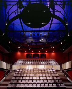 Theatre in Glasgow. What is going on with the ceiling here? It's incredible... What kinds of possibilities exist on the ceiling plane?