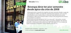 Bovespa deve ter pior semestre desde ápice da crise de 2008.  http://conv.ly/olsa