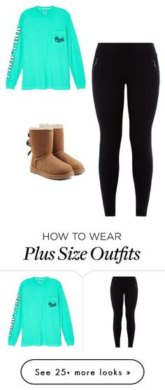 """Meeting R5"" by just-r5sos on Polyvore featuring мода, Victoria's Secret и UGG Australia"