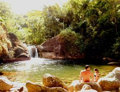 Piscinas naturais em Maromba , Visconde de Mauá