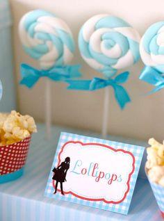 Dorothy Wizard of Oz Birthday Party   CatchMyParty.com