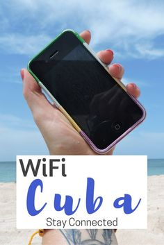 Internet and WiFi in Cuba.