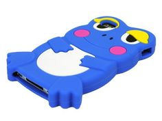 ECOMGEAR(TM) Deep Blue Cute 3D Frog Silicone Skin Case Cover for Apple iPhone 4 4S. Precisely compatible with iPhone 4/4S. Shock absorbent and shatterproof design. Brand new Cute Frog Image Protective Soft Shell Back Case Cover for iPhone 4/4S. Easily access all functions without removing the case. ECOMGEAR(TM) is a trademark. All ECOMGEAR? products are exclusively distributed by itself. ECOMGEAR? trademark is protected by US Trademark Law.