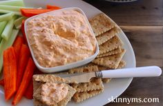 This Pimento Cheese Spread is still a crowd favorite! Try this at your next BBQ or picnic!! #healthy #appetizer #sides #recipes #skinnyms