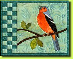 Buchfink 2 pattern by Regina Grewe