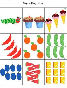 The Very Hungry Caterpillar Theme Activities - The Very Hungry Caterpillar Activities, Caterpillar Craft, Hungry Caterpillar Party, Sequencing Activities, Book Activities, Farm Birthday, 1st Birthday Parties, Caterpillar Pictures, Preschool Education