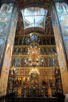The Church of Elijah the Prophet, in Yaroslavl.