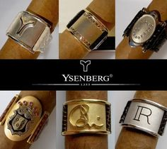 Sexin' Up That Stogie With Custom Bejeweled Cigar Bands & Gold Ashtrays