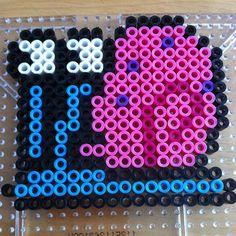 Gary SpongeBob perler beads by branden88000